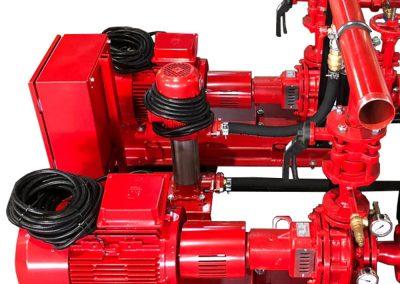NFPA20 standard pump unit structure