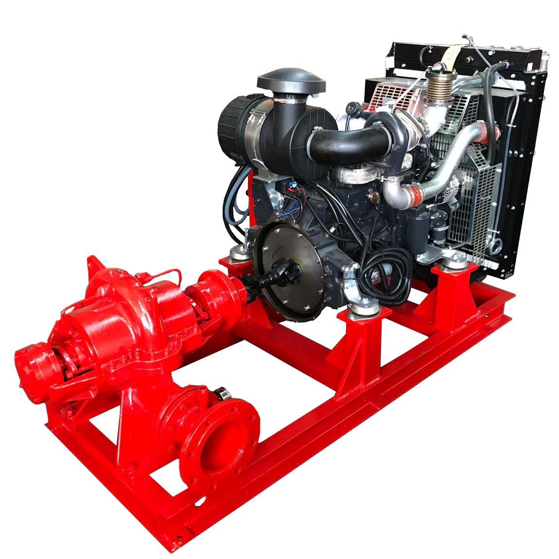 Industrial centrifugal motor pump