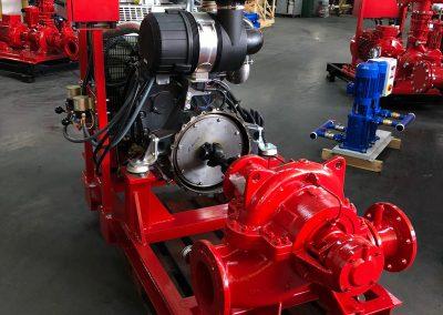 Groupe motopompe en fonte équipé de moteur IVECO