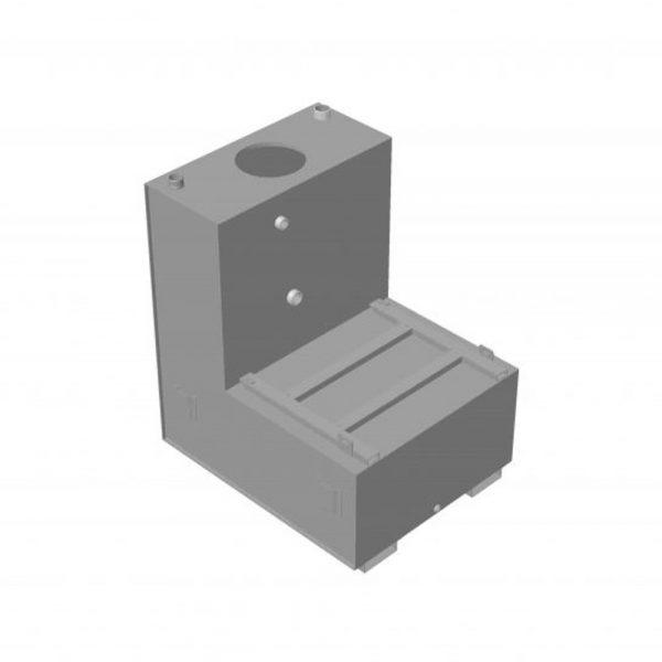 Citerne kit hp INOX forme L
