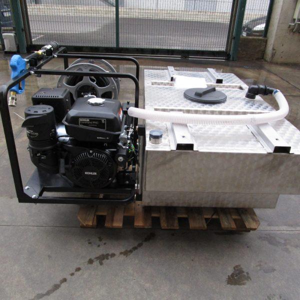 Citerne INOX pour kit haute pression