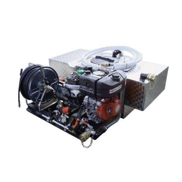 Kit haute pression avec citerne INOX forme T