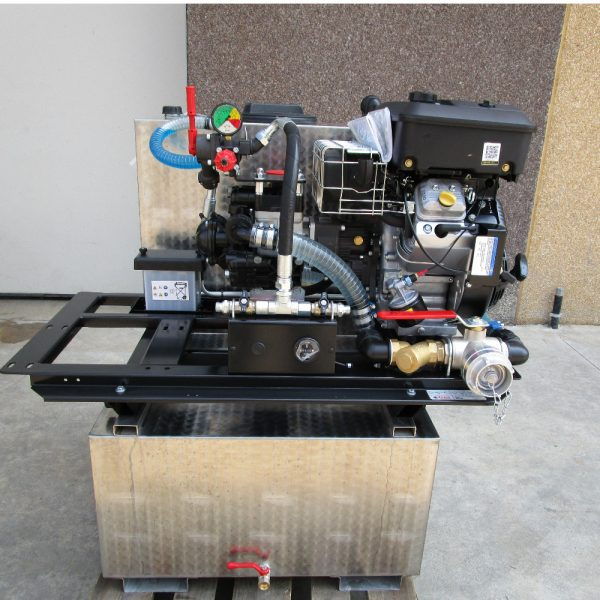 Kit haute pression avec citerne L INOX