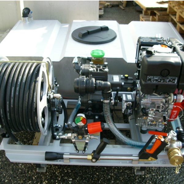 Kit haute pression avec citerne en INOX