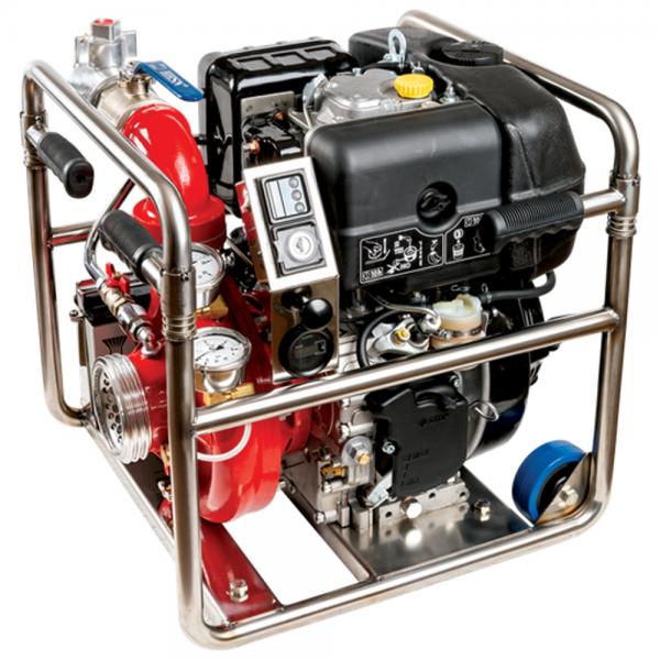 Heat pump in marine grade alloy