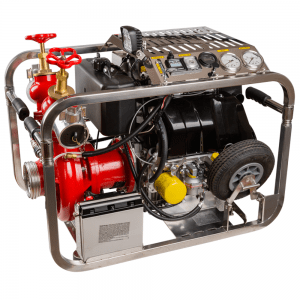 Saltwater motor pump