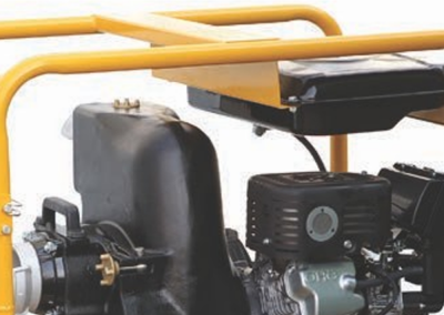 EUROMAST fire-fighting motor pump chassis