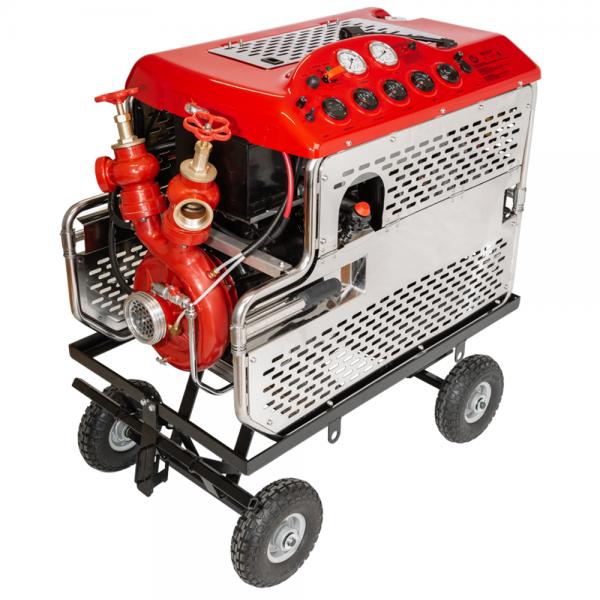 Seawater resistant fire pump