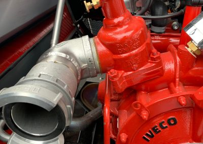 90 ° elbow for fire pump
