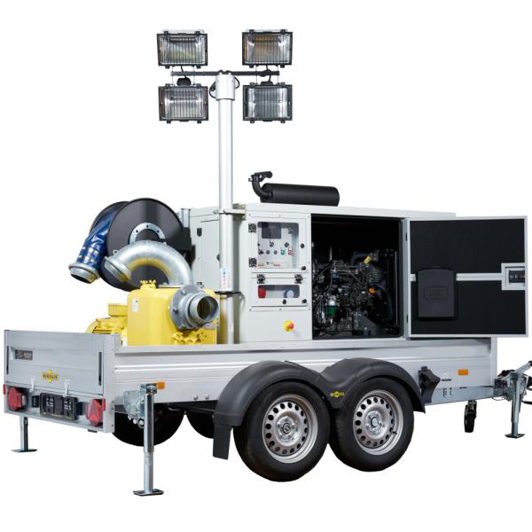 Multifunctional pump unit