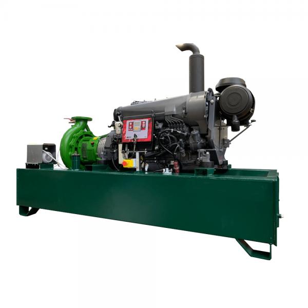 Fixed transfer pump unit