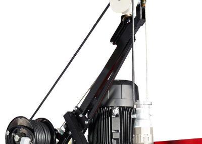 EUROMAST firefighter intervention trailer