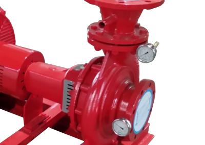 Control manometer for electric pump