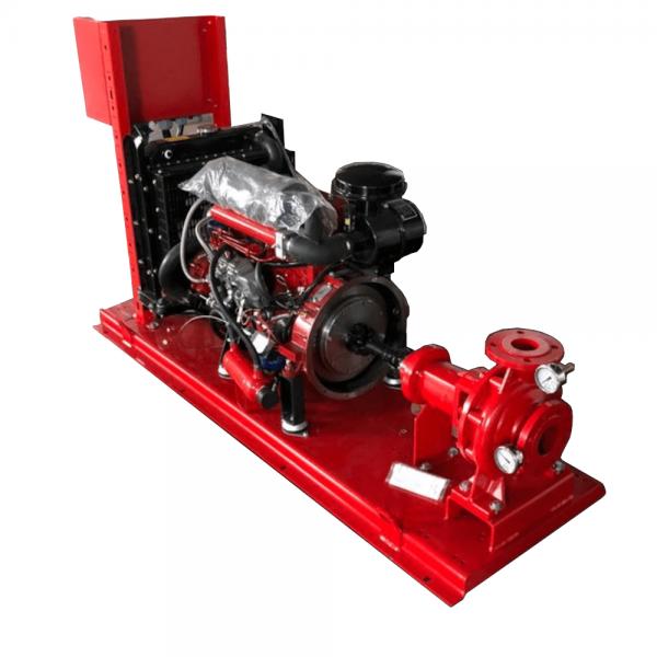 Groupe motopompe fabriqué selon la norme NFPA 20