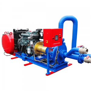 ATEX and NFPA20 certified pump unit