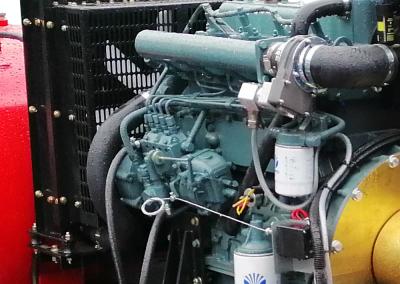 Moteur diesel installé sur groupe NFPA 20