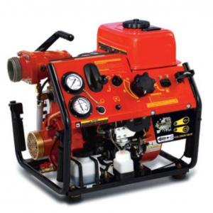 Pompe incendie portable pour eau de mer